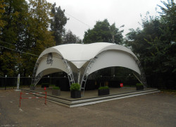Шатер 10x10 метров Бархан (100 м2)