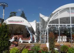 Продажа тентов и шатров для ресторанов и кафе