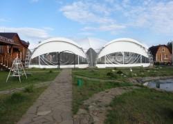 шатер 20x20 метров (400 м2)