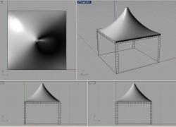 Классические тентовые конструкции ЮТЕКО, пагоды